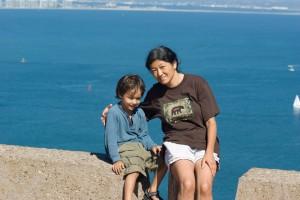 Nobu and Mom