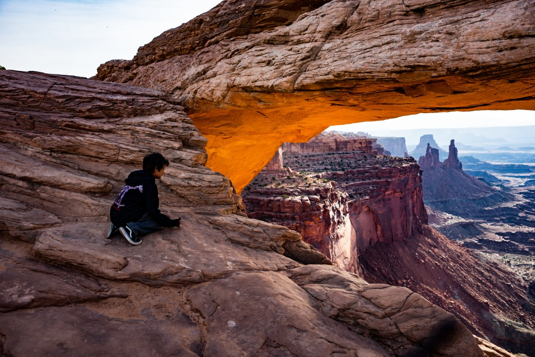 Mesa Arch in the morning