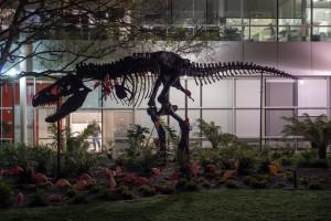 T-Rex in its native habitat