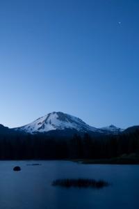 Lassen peak early morning