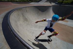 Santa Clarita skate park. (really awesome).