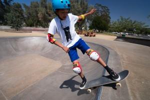 Hansen Dam skate park