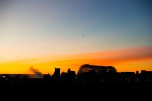 Sunrise at Moffett