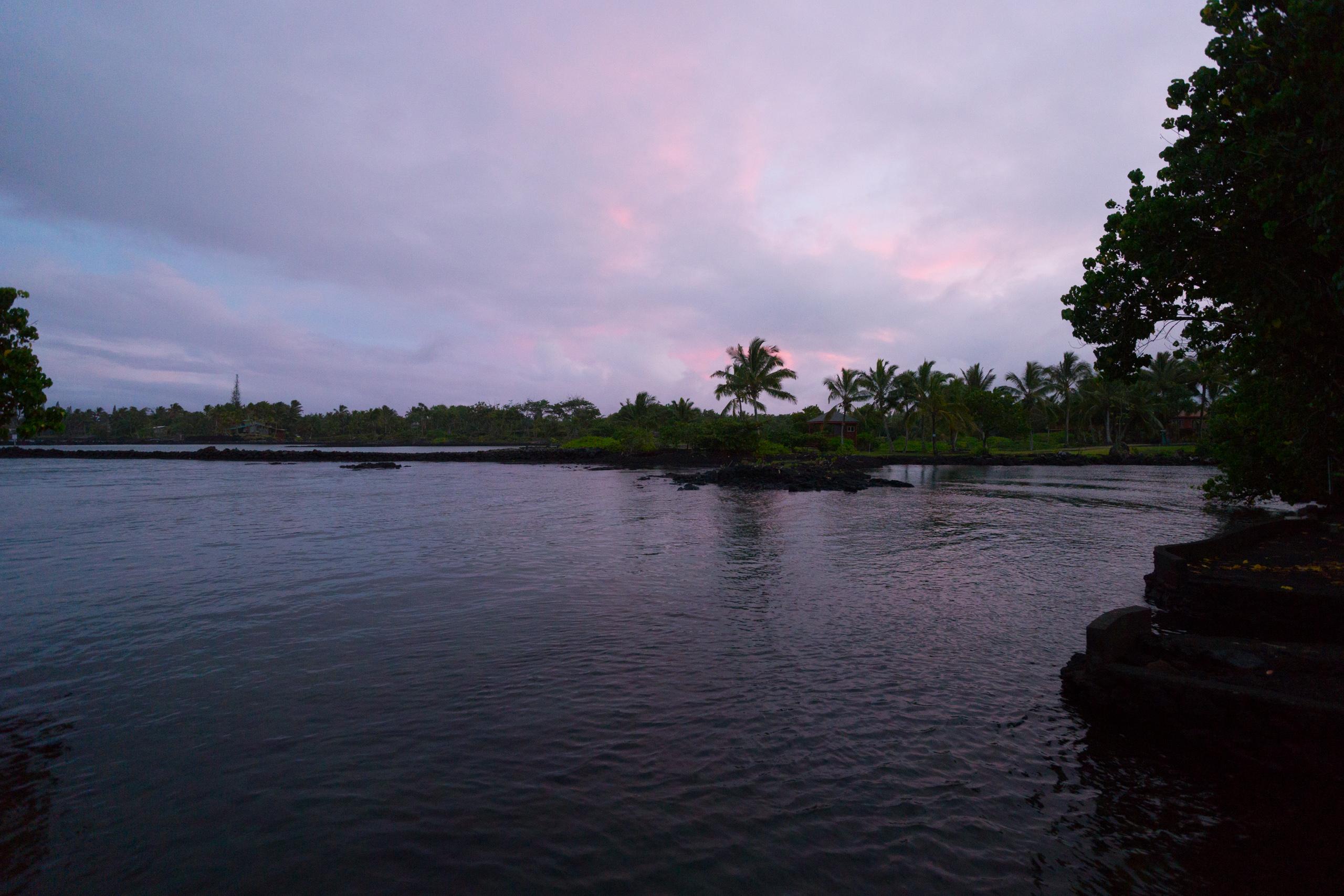 Sunset Alapaki Lane