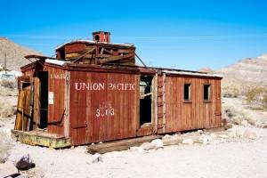 Union pacific railroad car