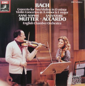 Bach: Concerto for two Violins in D Minor