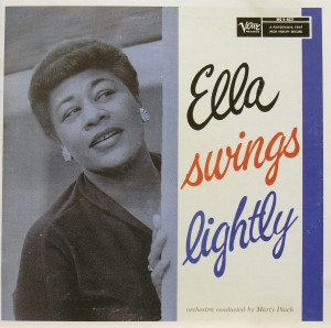 Ella Fitzgerald: Ella swings lightly