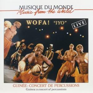 "Wofa ""Iyo"": Guinee: Concert de Percussions"